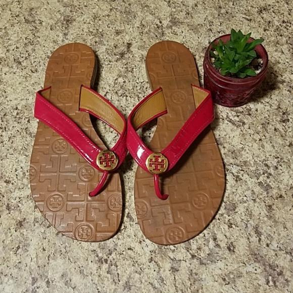 ad656b514f5e Tory Burch Shoes - Tory Burch - Thora Flip Flops